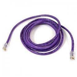 Belkin / Linksys - A3L791-14-PUR - Belkin Cat5e Patch Cable - RJ-45 Male - RJ-45 Male - 14ft - Purple