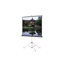 "Da-Lite - 36477 - Da-Lite Picture King Portable Projection Screen - 70"" x 70"" - High Contrast Matte White - 99"" Diagonal"