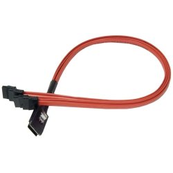 3Ware/AMCC - CBL-SFF8087OCF-10M - 3ware Serial Attached SCSI (SAS) Internal Cable - SFF-8087 - SATA - 3.28ft