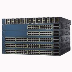 Cisco - WS-C3560E-48PDS-RF - Cisco Catalyst 3560E-48PD-S Multi-layer Ethernet Switch with PoE - 2 x X2 - 48 x 10/100/1000Base-T