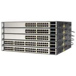 Cisco - WS-C3750E-24PDS-RF - Cisco Catalyst 3750E-24PD-S Multi-layer Stackabel Switch with PoE - 2 x X2 - 24 x 10/100/1000Base-T, 2 x
