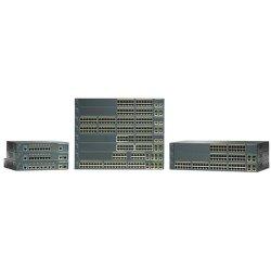 Cisco - WS-C2960-24TC-S-RF - Cisco Catalyst 2960-24TC-S Ethernet Switch - 2 x SFP - 24 x 10/100Base-TX, 2 x 10/100/1000Base-T