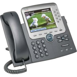 Cisco - CP-7975G-CCME - Cisco 7975G Unified IP Phone - 2 x RJ-45 10/100/1000Base-T , Mini-phone Headset - 8Phoneline(s)