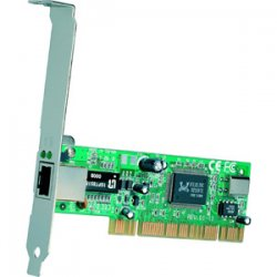 TRENDnet - TE100-PCIWN - TRENDnet Fast Ethernet PCI Adapter - PCI - 1 x RJ-45 - 10/100Base-TX