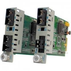 Omnitron - 8681-3 - Omnitron Systems iConverter 8681-3 multi-mode to single-mode Fiber Transceiver - 2 x SC Duplex - OC-12