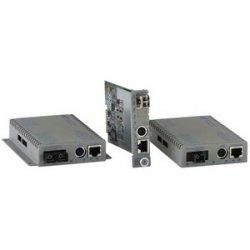 Omnitron - 8931-1-D - Omnitron Systems iConverter GX/TM UTP to Fiber Media Converter - 1 x RJ-45 , 1 x SC Single Fiber - 10/100/1000Base-T, 1000Base-X