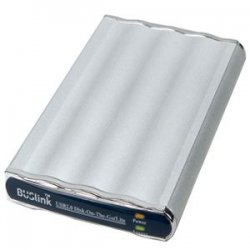 "Buslink Media - DL-250-U2 - Buslink Disk-On-The-Go DL-250-U2 250 GB 2.5"" External Hard Drive - USB 2.0 - 5400rpm"
