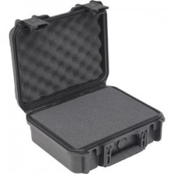 "SKB Cases - 3I-1209-4B-C - SKB Mil-Standard Injection Molded Case - Internal Dimensions: 12"" Width x 9"" Depth x 4.50"" Height - External Dimensions: 14"" Width x 12"" Depth x 6.3"" Height - Latching Closure - Polypropylene - Black - For Audio Equipment"