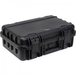 "SKB Cases - 3I-1209-4B-D - SKB Mil-Standard Injection Molded Case - Internal Dimensions: 12"" Width x 9"" Depth x 4.50"" Height - External Dimensions: 14"" Width x 12"" Depth x 6.3"" Height - Latching Closure - Polypropylene - Black - For Audio Equipment"