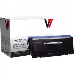 V7 - V7TN580 - V7 Black High Yield Toner Cartridge for Brother - Laser - High Yield - 7000 Page
