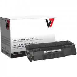 V7 - V753A - Black Toner Cartridge For HP LaserJet M2727 MFP, M2727NF MFP, P2010, P2014, P