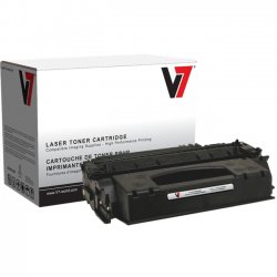 V7 - V753X - V7 Remanufactured High Yield Toner Cartridge for HP Q7553X (HP 53X) - 7000 page yield - Laser - High Yield - 7000 Pages