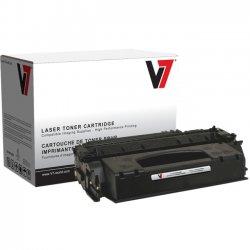 V7 - V753X - V7 Black High Yield Toner Cartridge for HP LaserJet - Laser - High Yield - 7000 Page