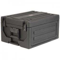 "SKB Cases - 1SKB19-RSF4U - SKB 1SKB19-RSF4U 4U Studio Flyer Case - Internal Dimensions: 19"" Width x 7"" Height - Latching Closure - Nylon, Polyethylene - Black - For Notebook, Audio Equipment"