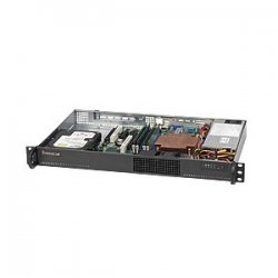 Supermicro - CSE-510-200B - Supermicro SC510-200B Chassis - Rack-mountable - Black