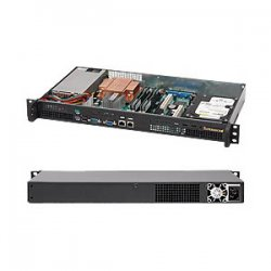Supermicro - CSE-503-200B - Supermicro SC503-200B Chassis - Rack-mountable - Black
