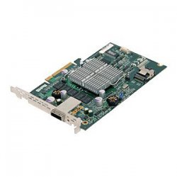Supermicro - AOC-USAS-S4I - Supermicro AOC-USAS-S4I 8 Port SAS RAID Controller - PCI Express - Up to 300MBps Per Port