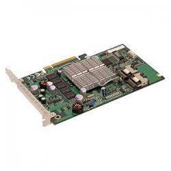 Supermicro - AOC-USAS-S8I - Supermicro AOC-USAS-S8I 8 Port SAS RAID Controller - 128MB DDR2 - PCI Express - Up to 300MBps Per Port