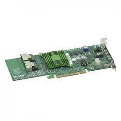 Supermicro - AOC-USASLP-L8I - Supermicro LSI MegaRAID LSISAS1068E 8 Port SAS RAID Controller - 16MB SRAM - PCI Express - Up to 300MBps Per Port