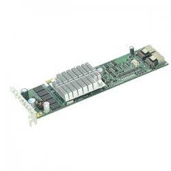 Supermicro - AOC-USASLP-S8I - Supermicro AOC-USASLP-S8I 8 Port Serial ATA/SAS RAID Controller - 128MB DDR2 - Universal I/O - Up to 300MBps Per Port - 2 x SAS x4 SAS 300 - Serial Attached SCSI Internal