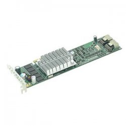 Supermicro - AOC-USASLP-S8IR - Supermicro AOC-USASLP-S8iR 8 Port Serial ATA/SAS RAID Controller - 256MB DDR2 - Universal I/O - Up to 300MBps Per Port - 2 x SAS x4 SAS 300 - Serial Attached SCSI Internal