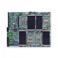 Supermicro - MBD-H8DME-2-O - SUPERMICRO H8DME-2 - Motherboard - extended ATX - Socket F - 2 CPUs supported - nForce Pro 3600 - 2 x Gigabit LAN - onboard graphics