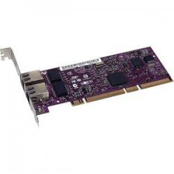 Sonnet Technologies - GE1000LA2X - Sonnet Presto Gigabit Network Adapter - PCI-X - 2 Port - 10/100/1000Base-T - Internal