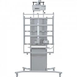 MooreCo - 66614 - Balt Locking Cabinet - 2 x Shelf(ves) - 26.9 Height x 17.9 Width x 15.1 Depth - Powder Coated - Steel - Gray