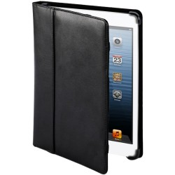 Cyber Acoustics - IMC-7BK - Cyber Acoustics IMC-7BK Carrying Case (Portfolio) for iPad mini - Black - Leather - Hand Strap - 5.8 Height x 8.3 Width x 0.8 Depth