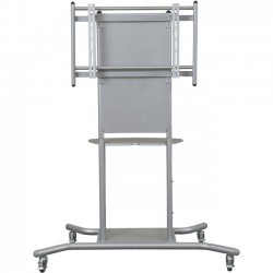 MooreCo - 27650 - Balt Elevation Flat Panel TV Cart - Up to 70 Screen Support - 125 lb Load Capacity - Flat Panel Display Type Supported - 1 x Shelf(ves)55.8 Width - Floor Stand - Gray