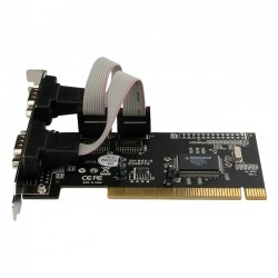 Rosewill - RC-301 - Rosewill Dual Serial Ports PCI Card Model RC-301 - PCI - 2 x Number of Serial Ports External