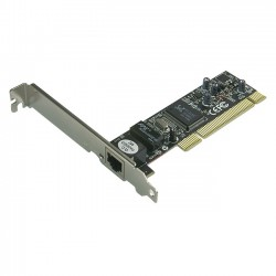 Rosewill - RC-402 - Rosewill RC-402 LAN Card 10/ 100Mbps PCI 1 x RJ45 - PCI - 1 Port(s) - 1 x Network (RJ-45) - Twisted Pair