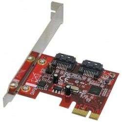 Addonics Technologies - AD2SAHSSD - Addonics Hybrid HDD - SSD Controller - Serial ATA/600 - PCI Express 2.0 x1 - Plug-in Card - RAID Supported - 0, 1 RAID Level - 2 SATA Port(s)