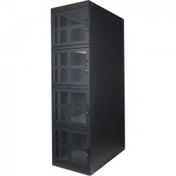Rack Solution - 141-2470 - Innovation Colocation Cabinet, 47U - 19 47U Wide x 47 Deep External - 3000 lb x Static/Stationary Weight Capacity