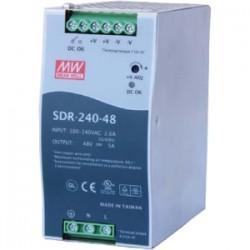 Comtrol - 32123-1 - Comtrol MeanWell SDR-240-48 Power Supply - 110 V AC, 220 V AC Input Voltage - DIN Rail - 94% Efficiency - 240 W