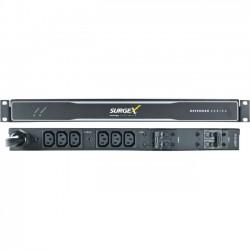 SurgeX - SX-DS-L630-FP - SurgeX Defender SX-DS-L630-FP 6-Outlets PDU - 6 x IEC 60320 C13 - 120 V AC, 230 V AC - 1U - Rack Mount