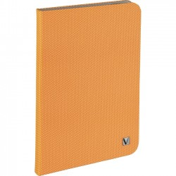 Verbatim / Smartdisk - 98102 - Verbatim Folio Hex Case for iPad mini (1,2,3) - Tangerine Orange - Microsuede Interior - Textured - 8.3 Height x 5.7 Width x 0.5 Depth