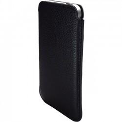 Premiertek.net - LC-IPHONE5-SLE - Premiertek Carrying Case (Sleeve) for iPhone - Black - Genuine Leather