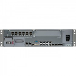 Juniper Networks - ACX4000-2-6GE-AC - Juniper ACX4000-AC Router - 8 Ports - Management Port - PoE Ports - 6 Slots - Gigabit Ethernet - 2.5U - Rack-mountable