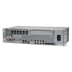 Juniper Networks - ACX4000BASE-DC - Juniper ACX4000-DC Router - 8 Ports - Management Port - PoE Ports - 6 Slots - Gigabit Ethernet - 2.5U - Rack-mountable