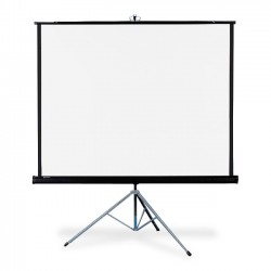 Acco Brands - 570S - Quartet Portable Tripod Projection Screen, 70 x 70, High-Res, Matte Surface - 70 x 70 - Matte White
