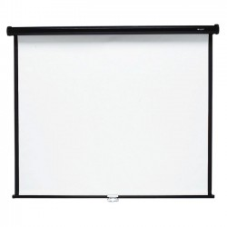 Acco Brands - 696S - Quartet Wall/Ceiling Projection Screen, 96 x 96, High-Res, Matte Surface - 96 x 96 - Matte White