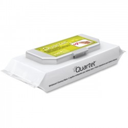 Acco Brands - 85390 - Quartet Prestige 2 Connects Cleaning Wipes - Wipe - 20 - 20 Pack - White