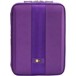 Case Logic - QTS-210PURPLE - Case Logic QTS-210 Carrying Case (Sleeve) for 10.1 iPad, Tablet - Purple - Ethylene Vinyl Acetate (EVA) Foam - 11.1 Height x 8.3 Width x 1.4 Depth