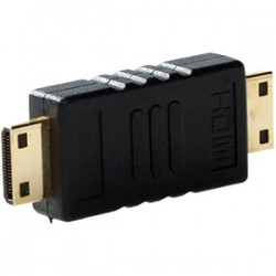 4xem - 4XHDMIMM - 4XEM HDMI A Male To HDMI A Male Adapter - 1 x HDMI (Type A) Male Digital Audio/Video - 1 x HDMI (Type A) Male Digital Audio/Video - Gold Connector - Black