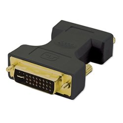 4xem - 4XDVIVGAMF - 4XEM DVI Male To VGA Female Adapter SVGA SXGA UXGA HDTV - DVI Male to VGA Female adapter 1 x HD-15 Female VGA - 1 x DVI-I (Dual-Link) Male Video - Black