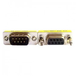 4xem - 4X9PINMF - 4XEM DB9 Serial 9-Pin Male To Female Adapter - 1 x DB-9 Male Serial - 1 x DB-9 Female Serial