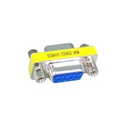 4xem - 4X9PINFF - 4XEM DB9 Serial 9-Pin Female To Female Adapter - 1 x DB-9 Female Serial - 1 x DB-9 Female Serial