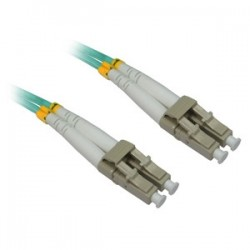 4xem - 4XFIBERLCLC4M - 4XEM 4M AQUA Multimode LC To LC 50/125 Duplex Fiber Optic Patch Cable - Fiber Optic for Network Device - 13.12 ft - 2 x LC Male Network - 2 x LC Male Network - Aqua Blue