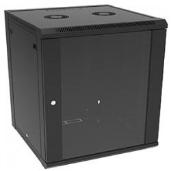 4xem - 4XRACK15U - 4XEM 15U Wall Mount Server Rack Cabinet - 15U Wide Wall Mountable - Black - 350 lb x Maximum Weight Capacity